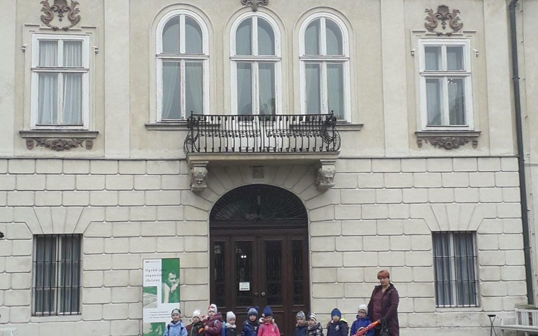 Zabawy naszych przodków- zwiedzanie pałacu w Nieborowie